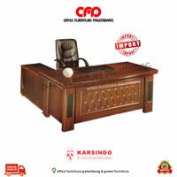 meja direktur direksi meja kantor meja kerja meja import L biro 160
