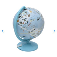 Bola Dunia   Odi globe mini multi color 25 Cm - Biru   Peta Dunia Atla