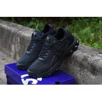 sepatu asics volly gel_kayano full black Import Premium