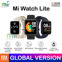 XIAOMI MI WATCH LITE GPS SMARTWATCH GLOBAL VERSION BUKAN REDMI WATCH