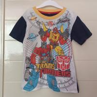 baju kaos anak transformers murah