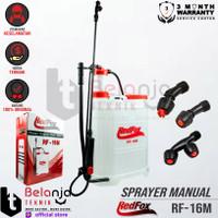 Redfox Pompa Sprayer Manual RF 16M Alat Semprot Hama 16 Liter RF16M