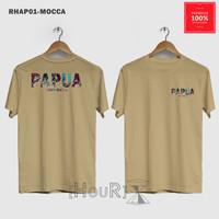 Baju Distro Kaos Nusantara Papua Pria All Size
