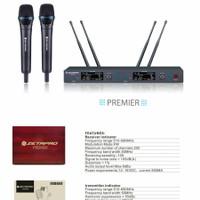 CashBack 500rb Mic Wireless ZETAPRO PREMIER UHF 5G 4 Antenna ORIGINAL