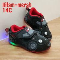 Sepatu transformers lampu #sepatu car #sepatu spiderman
