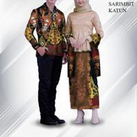 bahan sarimbit batik tulis couple 111NS