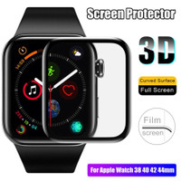 ANTI GORES SCREEN PROTECTOR 3D FILM FULL COVER APPLE WATCH 1 2 3 4 5