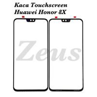 Glass Lcd - Kaca Touchscreen For Huawei Honor 8x - Plus Oca, Hitam