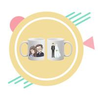 Custom Mug / Mug Satuan / Hadiah Custom / Kado Custom / Souvenir Mug