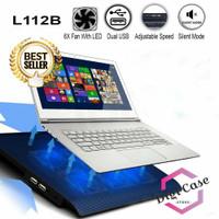 Cooling Pad   Coolingpad   Cooler Laptop 6 Fan L112B Black