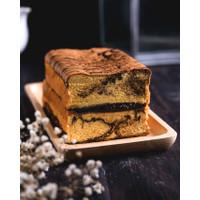 KUE LAPIS MARBLE COFFEE CHOCO - DELISH CAKERY