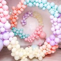Per Pack 5inch Balon Latex Macaron / Balon Karet warna Pastel isi 50pc