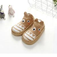Sepatu Bayi Baby Prewalker Shoes Socks Kaos kaki Bayi Anti Slip Impor - XS, Cokelat