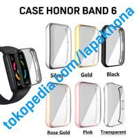 Case Full Cover Huawei Honor Band 6 Bumper TPU Casing Pelindung Soft