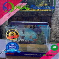 Kandila iglass 350 Bending Clear glass 350x20x23cm Aquarium