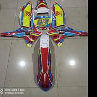 Decal KLX BF CRF KTM KSR Premium Laminasi Tebal