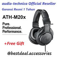 Audio Technica ATH-M20X Headphone Garansi Resmi (Spt ATH M40X M50X)