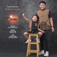 baju batik couple ayah anak kemeja batik