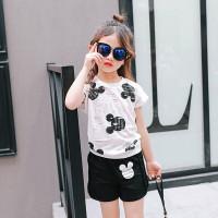 Baju Anak Import Minnie - Pakaian Anak Perempuan Import Minnie Hitam