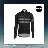 COOLMAX RCC Pro Team Women Long Jersey BLACK - Baju Sepeda Wanita ACM