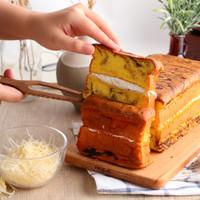 KUE LAPIS MARBLE ORIGINAL CHEESE - DELISH CAKERY