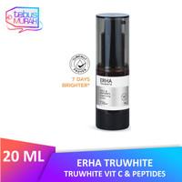 Erha Truwhite Vit C & Peptides Brightening Serum 20 ml - Serum Wajah