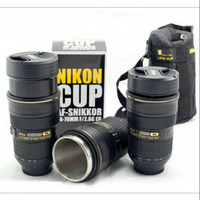 Mug lensa camera Nikon