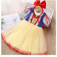 Dress Princess Snow White Rok Tutu Anak