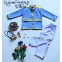 Baju Karakter Anak Kostum Pangeran William Bahan Drill