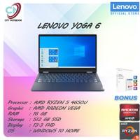 Lenovo Yoga 6 13 2in1 Touch Ryzen 5 Pro 4650 16GB 512ssd Vega7 W10+OHS