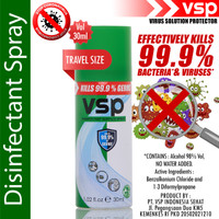 VSP Disinfectant Spray 30ml ( Travel Size )