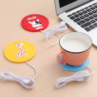 USB Silicon Pad Drink Coffee Warmer / Alas Tatakan Gelas Pemanas Kopi