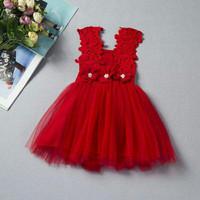 Baby Dress Fairy Lace Gaun Pesta Bayi Anak Perempuan