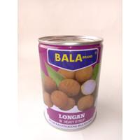 BALA BRANDS LONGAN KING / BUAH KELENGKENG KALENG 565 G