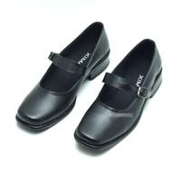 Sepatu Pantofel Paskibra Wanita Hak3cm Dinas Harian POLRI KOWAD KOWAL - 40