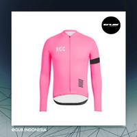 COOLMAX RCC Pro Team Women Long Jersey PINK - Baju Sepeda Wanita ACM - S
