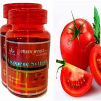 Obat Prostat / Kanker / Kesuburan - Lycopene Softgel Green World Asli