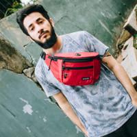 Tas Selempang Pria Zest Red / Sling Bag / Waist Bag
