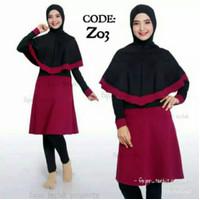 Baju renang wanita muslimah Syar'i/pakaian renang perempuan muslim - Z05, M