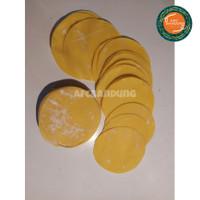 Diameter 9 cm Kulit Dimsum Pangsit Siomay Gyoza Bulat Kuning 250gr