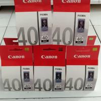 Cartridge Tinta Canon 40 black ip1200,ip1300,iP1600,iP1700 original