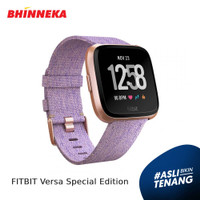 FITBIT Versa Special Edition Lavender Woven SmartWatch Garansi Resmi