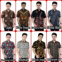 Baju Batik Pria Kemeja Batik Premium Motif Ular Naga Diskon Murah