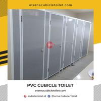 PVC Cubicle Toilet   Partisi Toilet PVC   Kubikal PVC   Toilet Cubicle