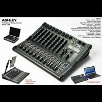 Mixer ashley lm 8 channel lm8 new original free koper sesuai gambar