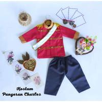 Baju Karakter Anak Kostum Pangeran Charles Bahan Drill
