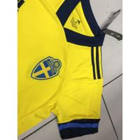 Jersey Timnas SWEDIA HOME EURO 2021 TOP QUALITY DETAIL GRADE ORI OFFI