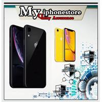 APPLE iPHONE XR 64GB ORIGINAL LTE BARU NEW ORIGINAL GARANSI 1 TAHUN