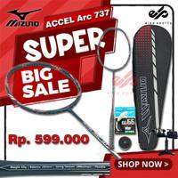 Promo Raket Badminton Mizuno Accel Arc 737 Blue