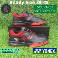 Sepatu Badminton Bulutangkis Olahraga Yonex Power Cushion Z2 Men Merah